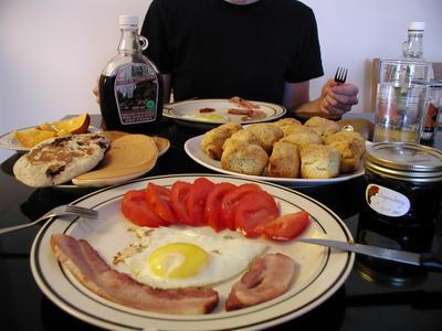 Petit d jeuner anglais la grotte de voltaire chambre d - Petit dejeuner nantes ...
